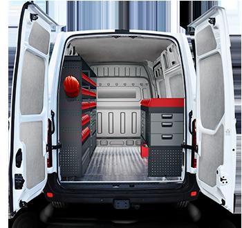 Système d/'aménagement pour véhicules utilitaires D40734